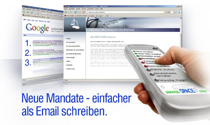 Neue Mandate per Mausklick - mit der Online-Fernbedienung - banner-fernbedienung-2